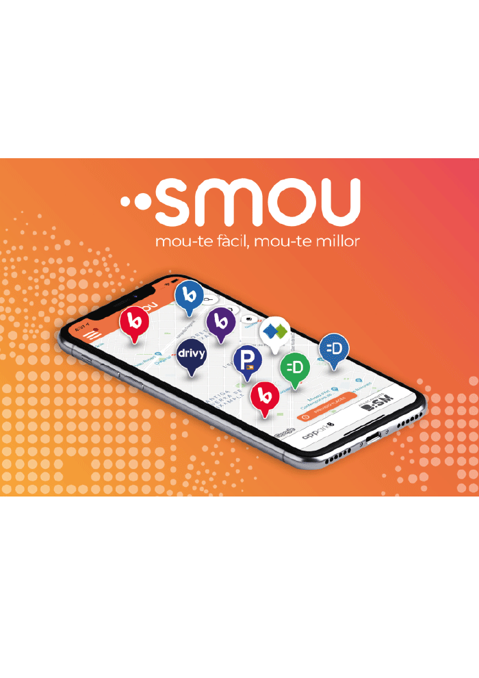 We present smou, Barcelona's new mobility app